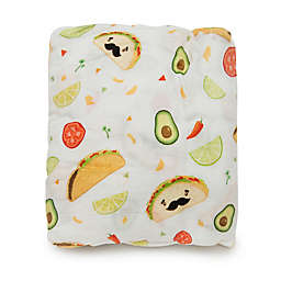 Loulou Lollipop® Tacos Crib Sheet