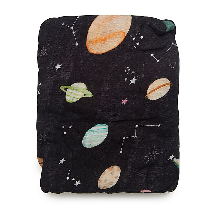 Alternate image 1 for Loulou Lollipop® Planets Crib Sheet