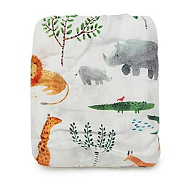 Loulou Lollipop® Safari Jungle Crib Sheet