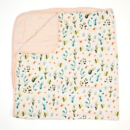 Loulou Lollipop Cactus Floral Deluxe Muslin Baby Quilt