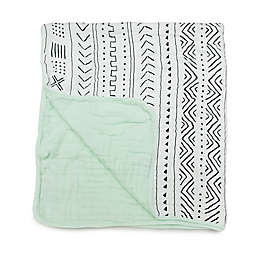 Loulou Lollipop Mudcloth Deluxe Muslin Baby Quilt