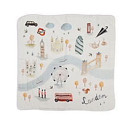 Loulou Lollipop London Deluxe Muslin Baby Quilt