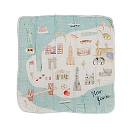 Loulou Lollipop New York City Deluxe Muslin Baby Quilt