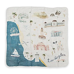 Loulou Lollipop Los Angeles Deluxe Muslin Baby Quilt