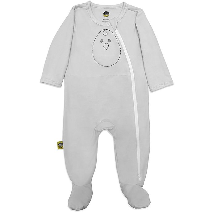 Alternate image 1 for Nested Bean® Footie in Grey Mist
