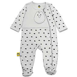 Nested Bean® Zen PJ™ Classic Footie in Grey