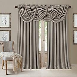 All Seasons Window Curtain Panel and Valance
