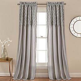 Bayview Rod Pocket Window Curtain Panel Pair
