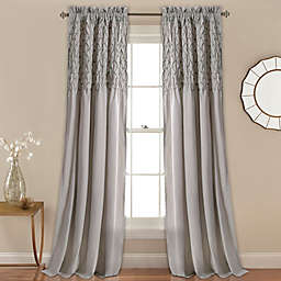 Bayview 2-Pack Rod Pocket Window Curtain