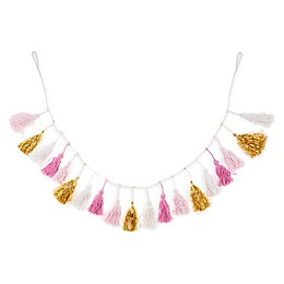 Marmalade™ Glam Life 3.5-Foot Tassel Garland in Pink/Gold