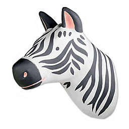 Marmalade™ Zebra Head Paper Mache Wall Art in Black/White