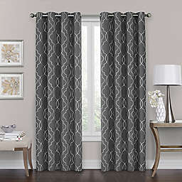 bb68a9e3d Brent Grommet 100% Blackout Window Curtain Panel