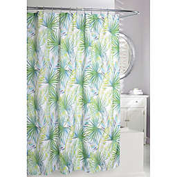 Moda Palm Tree Shower Curtain in Green/White