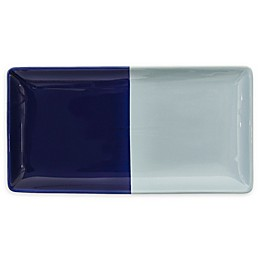 kate spade new york Half Dot Vanity Tray in Blue