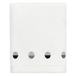 kate spade new york Half Dot Fingertip Towel in White