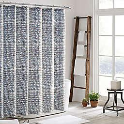 ED Ellen DeGeneres Soledad Shower Curtain in Medium Grey
