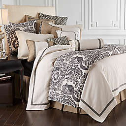 HiEnd Accents Augusta Toile Reversible Duvet Cover