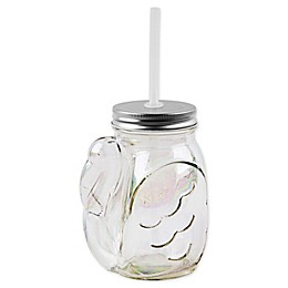 Home Essentials & Beyond Flamingo Sipper with Straw