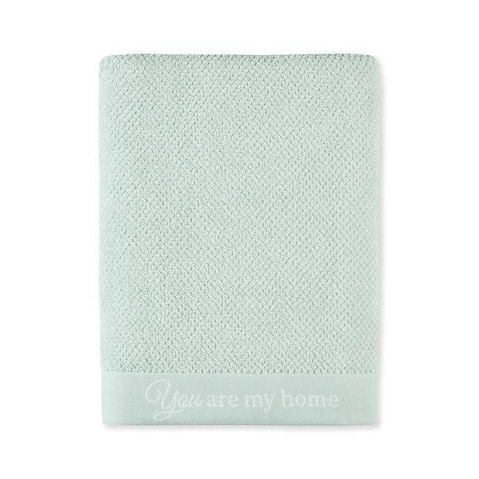 Alternate image 1 for Bee & Willow™ Home Watermill Bath Towel in Sky Grey