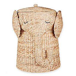 Marmalade™ Handwoven Elephant Laundry Hamper with Liner in Natural