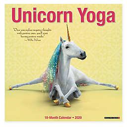Willow Creek Press 2020 Unicorn Yoga 18-Month Wall Calendar