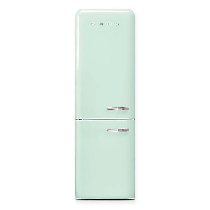 Alternate image 1 for SMEG 12.5 cu. ft. '50s Retro Style Left Hinge Refrigerator/Automatic Bottom Freezer