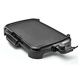 BELLA Nonstick Aluminum Electric Griddle in Black