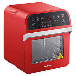 GoWISE USA® 12.7 qt. Air Fryer Oven Deluxe with Accessories in Red