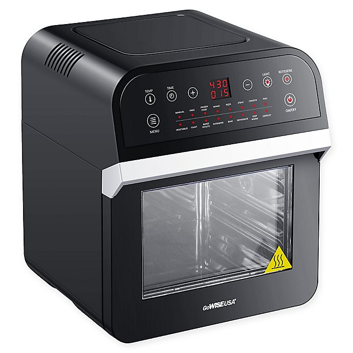 Alternate image 1 for GoWISE USA® 12.7 qt. Air Fryer Oven Deluxe with Accessories