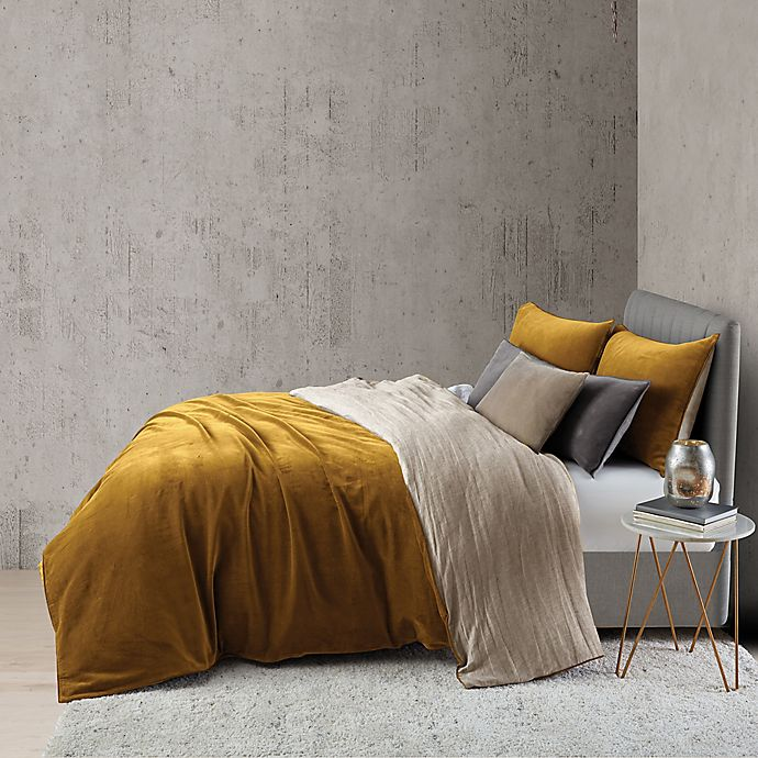 Alternate image 1 for O&O by Olivia & Oliver™ Velvet Duvet Cover Set