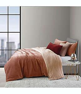 Set de funda para edredón king O&O by Olivia & Oliver™ de terciopelo en rosa