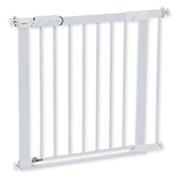Safety 1st® Flat Step Metal Pressure-Mount Safety Gate in White