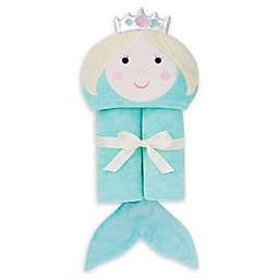 Elegant Baby® Mermaid Hooded Towel in Aqua