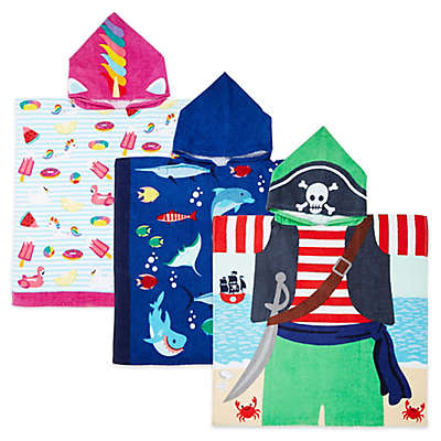 Kids Hooded Beach Towel Collection