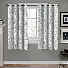 Branches Grommet Window Curtain Panel Pair