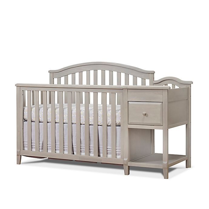 Sorelle Brittany 4 In 1 Convertible Crib And Changer In