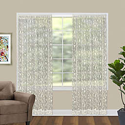 Bristol Garden Window Curtain Panel in Cafe