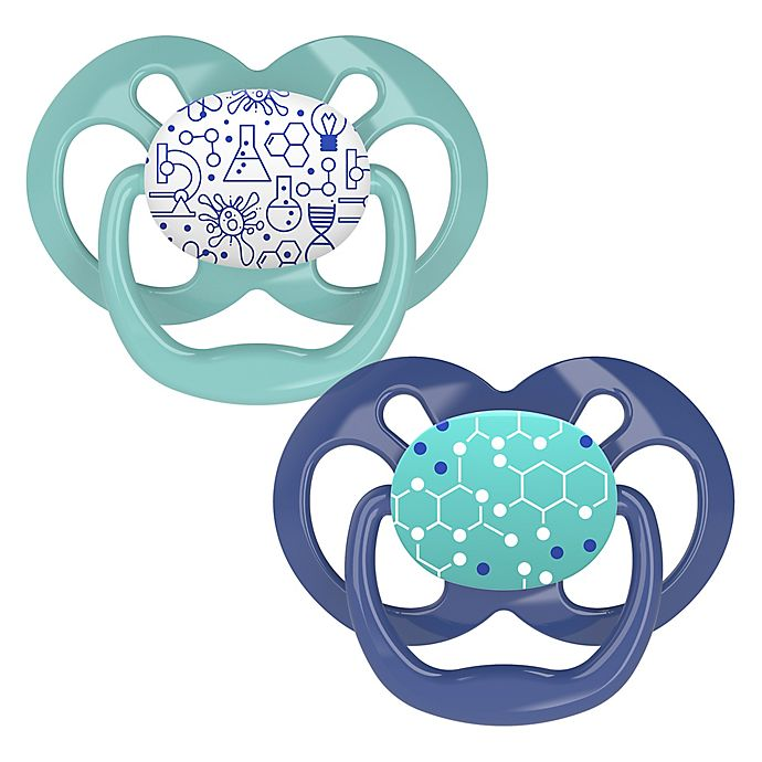 Alternate image 1 for Dr. Brown's® Advantage 2-Pack Stage 2 Pacifiers