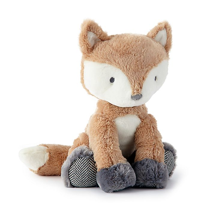 Alternate image 1 for Levtex Baby® Bailey Fox Plush Toy in Brown