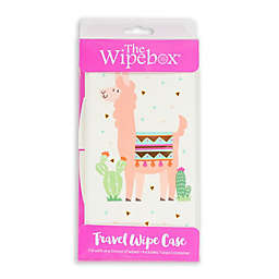 Uber Mom® Llama Wipebox® in White