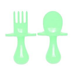Grabease® 2-Piece First Training Self-Feeding Utensil Set
