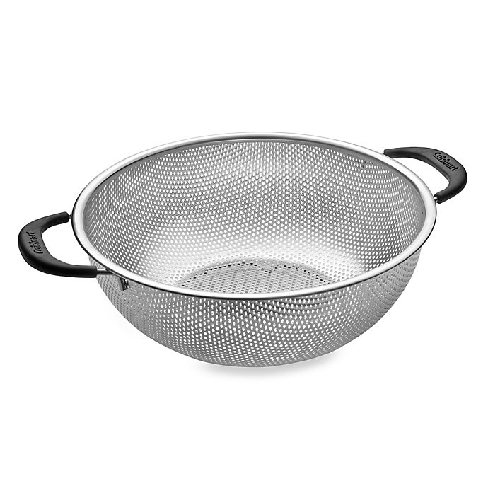 Alternate image 1 for Cuisinart® 5-Quart Hard Mesh Stainless Steel Colander