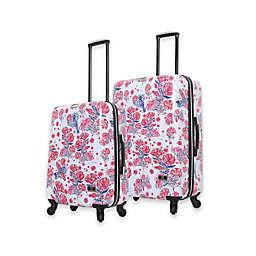 Halina Car Pintos Fly Hardside Spinner Checked Luggage