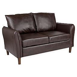 Flash Furniture Milton Faux Leather Loveseat