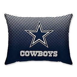 NFL Dallas Cowboys Dot Plush Pillow Protector