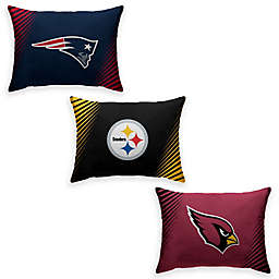 NFL Side Streak Plush Pillow Protector Collection
