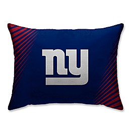 NFL New York Giants Side Streak Plush Pillow Protector