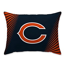 NFL Chicago Bears Side Streak Plush Pillow Protector