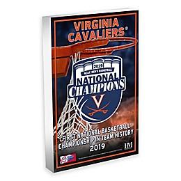 University of Virginia 2019 Men's Basketball Champions 3D Acrylic BlocKart