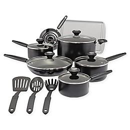 SilverStone Culinary Colors Nonstick 15-Piece Aluminum Cookware Set